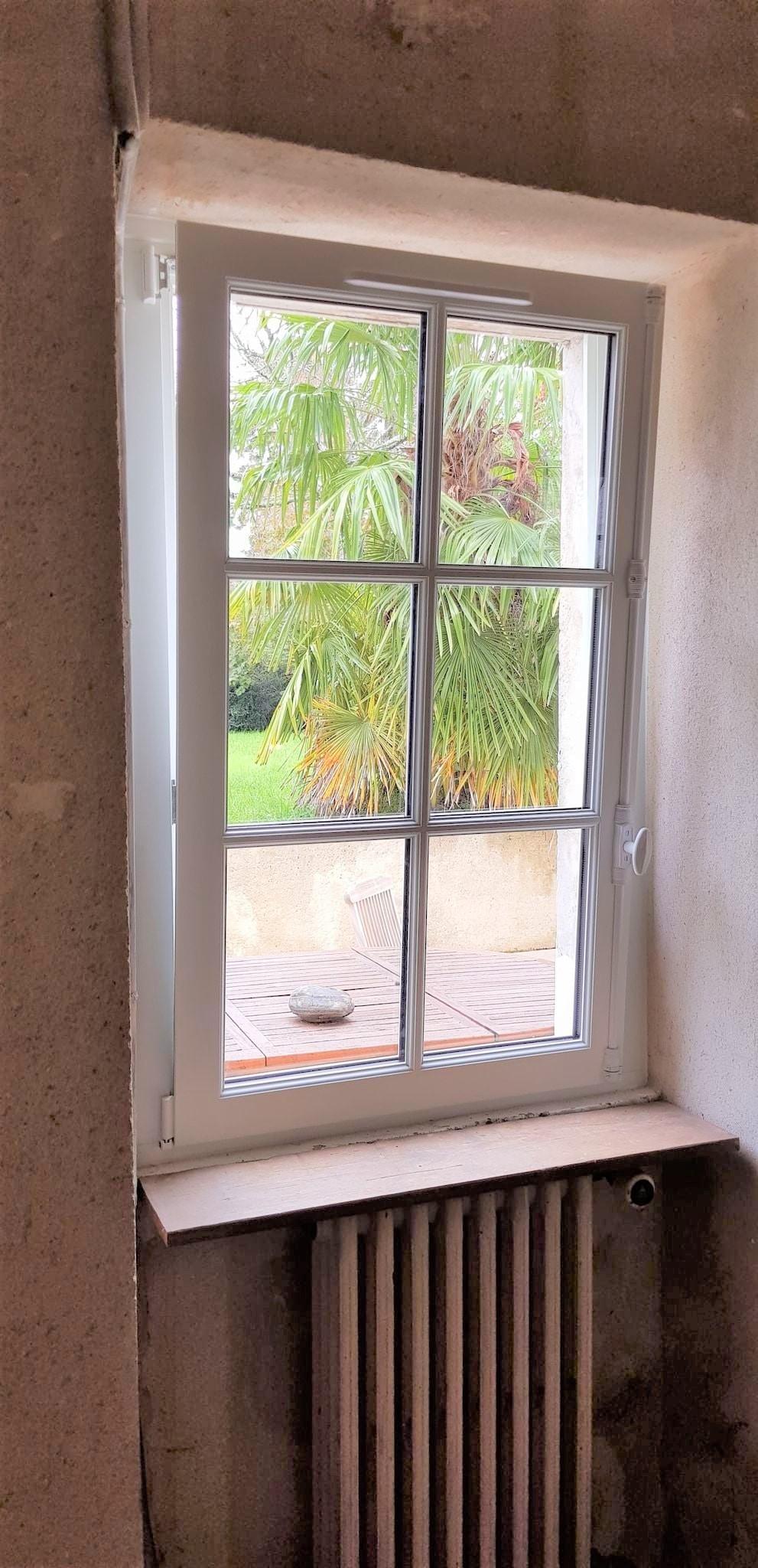 Remplacement de fenêtre en bois