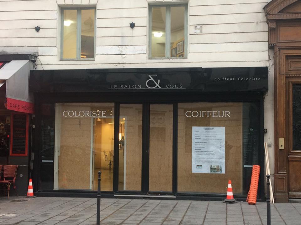 Réalisation d\'un salon de coiffure à Paris