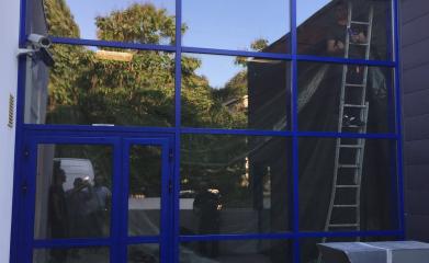 Installation façade vitrée bureaux image 2