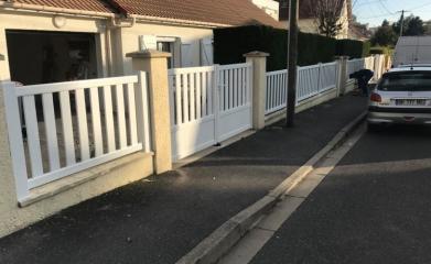 Rénovation portail et clôture 95 image 2