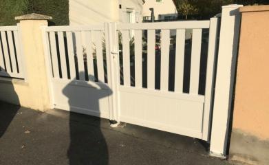 Rénovation portail et clôture 95 image 3