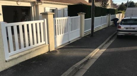 Rénovation portail et clôture 95