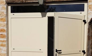Installation porte de garage battante image 3