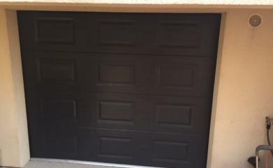 Pose de porte de garage sectionelle 95 image 2