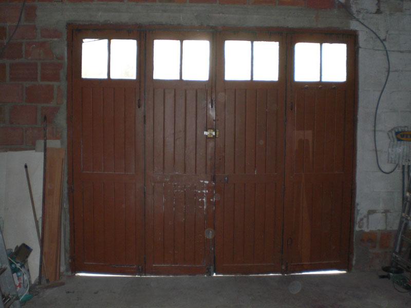 Porte en bois Val-d'Oise