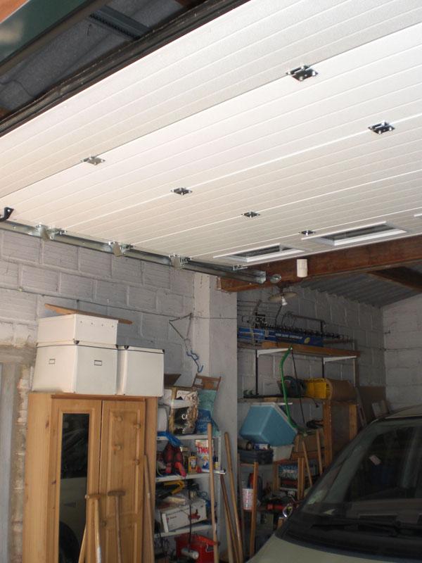 Porte de garage sectionnelle Val-d'Oise