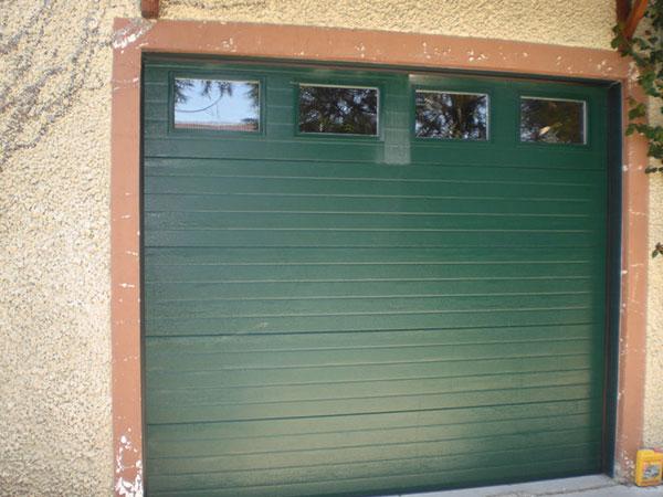 Remplacement porte de garage PVC Val-d'Oise