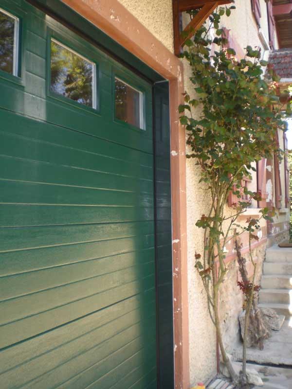 Porte de garage PVC Val-d'Oise