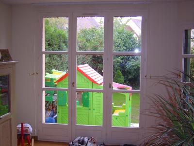 Remplacement d'une fenêtre en bois