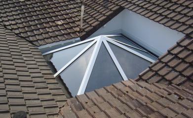 Installation fenêtre de toit en verre 95 image 2